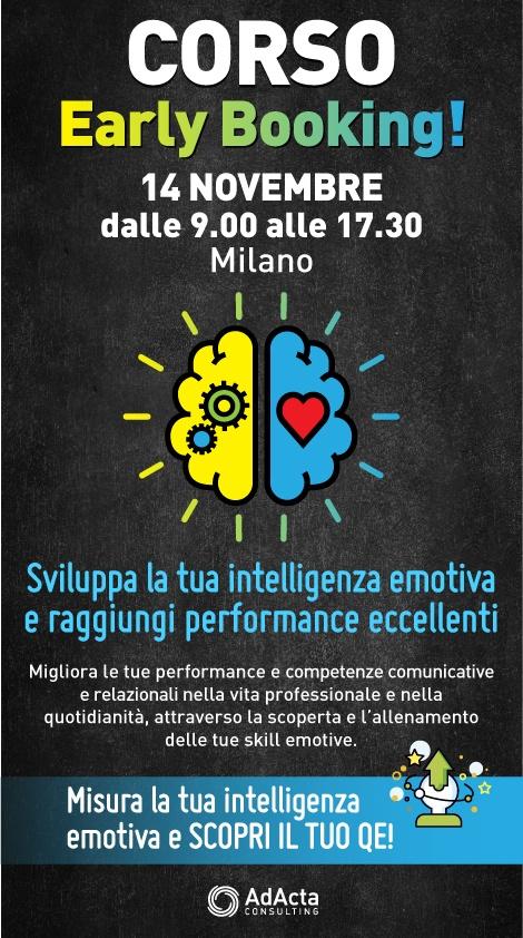 Banner Corso Sviluppa la tua intelligenza emotiva